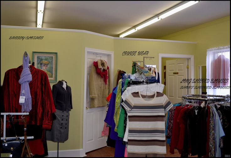 We are donate top quality clothing items in every size. When you come