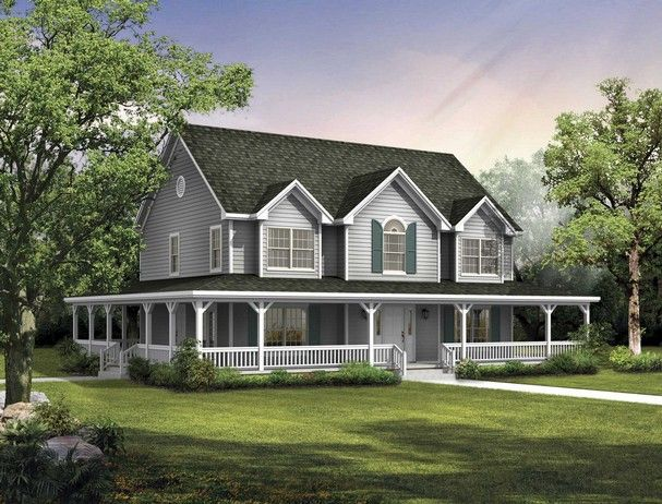 Big Country House Plan Someday Pinterest