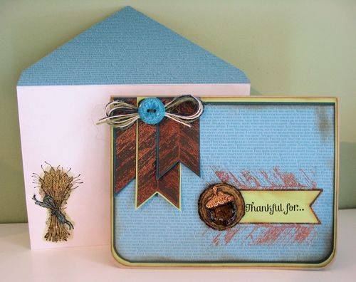 Card for a guy just change the message mary fish using stampin up