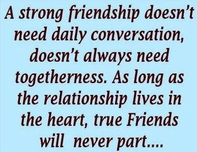 friendship quote via inspiring and positive quotes