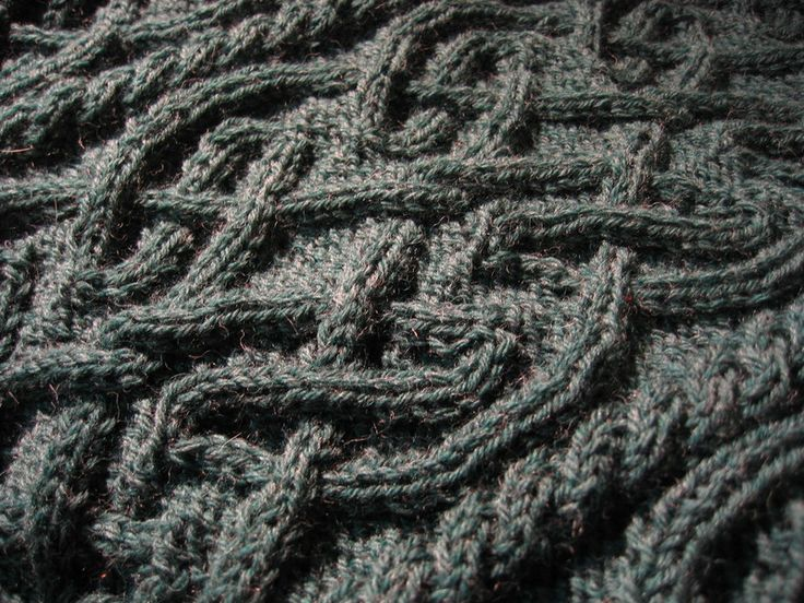 Aran Knitting : St. Brigid from Alice Starmores Aran Knitting