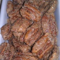 Sugar Coated Pecans Recipe - yummmmmmnessss!!!!