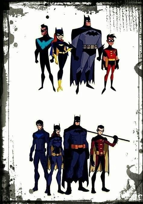 Young Justice Bat FamilyYoung Justice Bat Family