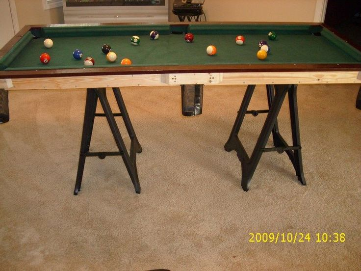 Small pool table for How to build a billiard table
