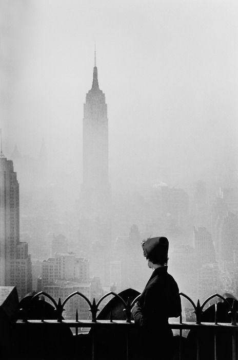 Empire State 1955, by Elliott Erwitt