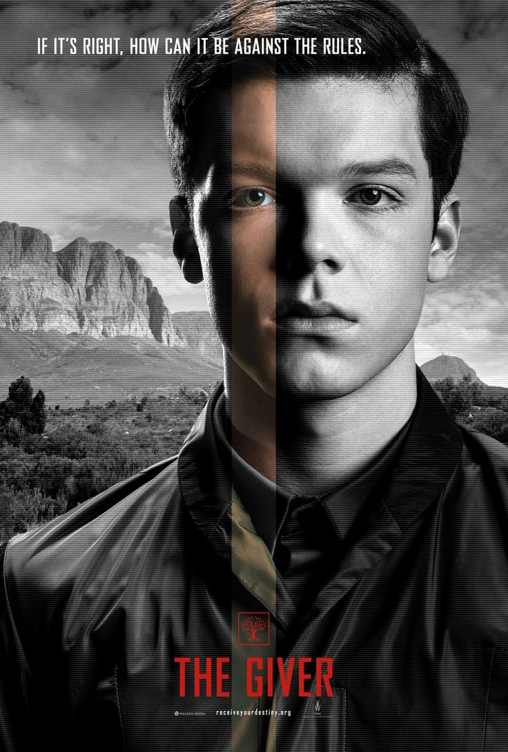 the giver movie posters books