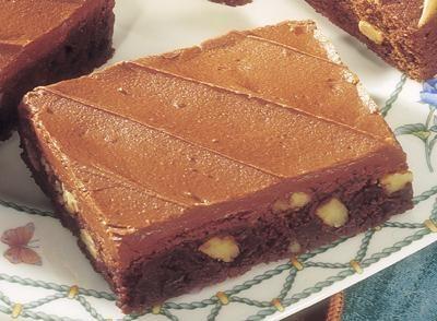 chocolate cream cheese brownies from hershey s kitchens