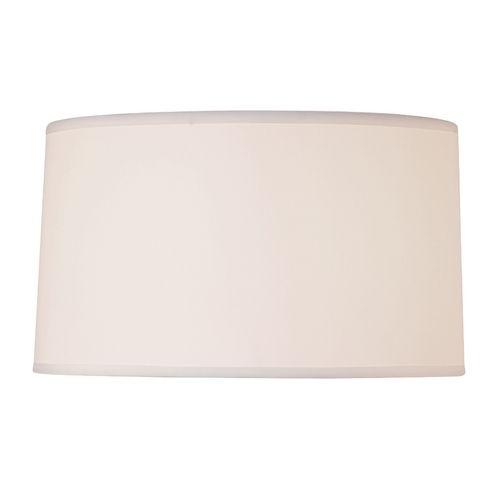 design classics lighting white linen drum lamp shade with spider. Black Bedroom Furniture Sets. Home Design Ideas