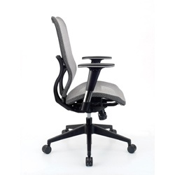 mesh height adjustable swivel office chair 6364191