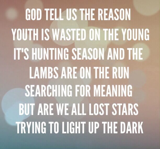 Lost Stars By Adam Levine. LOVE THIS SONG!! Lyrically In Love. Pinterest