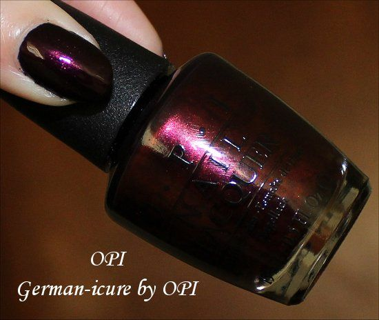 OPI German-icure by OPI Swatches  amp  ReviewOpi German Icure