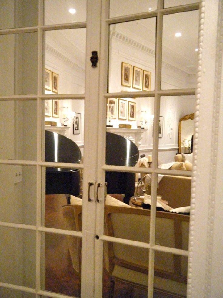 Mirrored French Doors Paris Apartment Pinterest