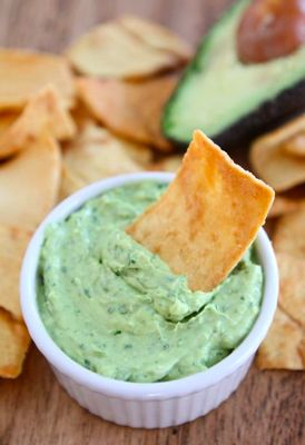 ... , starting with Two Peas and Their Pod's creamy avocado yogurt dip