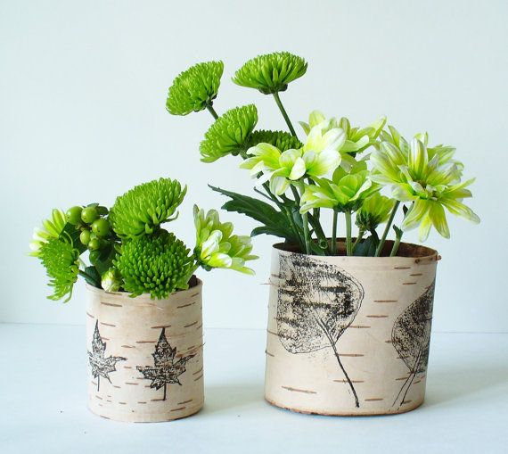 birch bark vase by Jaden Rai Inspired #handmade #wedding
