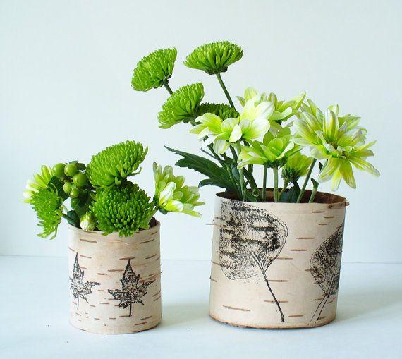 birch bark vase by Jaden Rai Inspired #handmade #wedding
