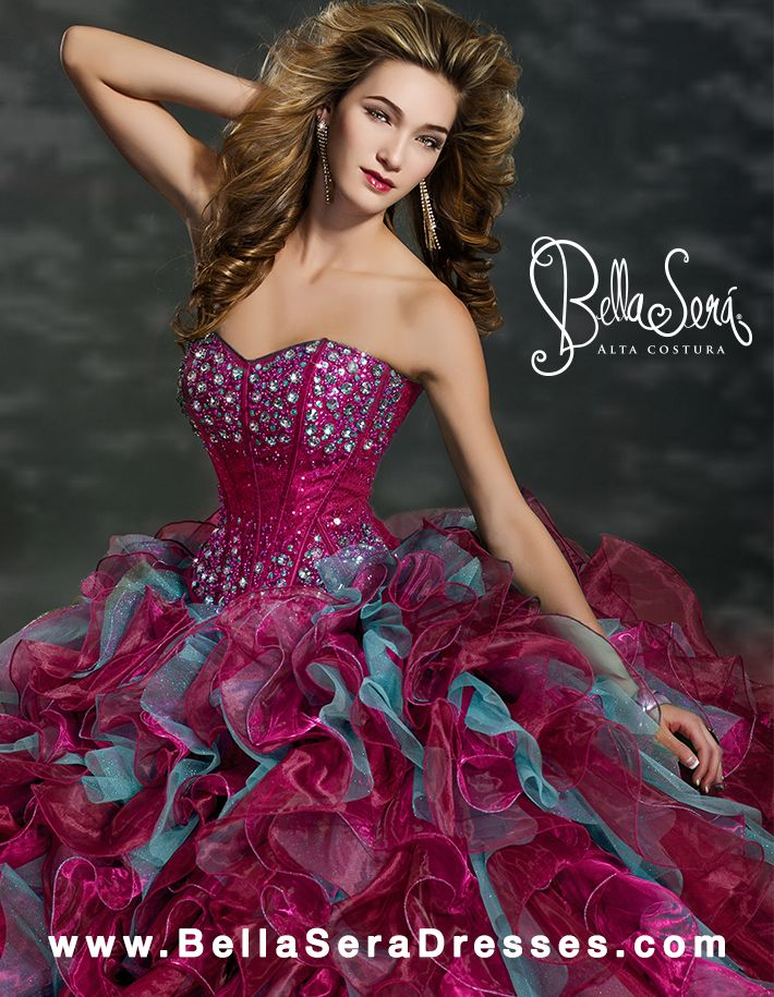 Bella sera quincea era dresses pinterest for The bella sera