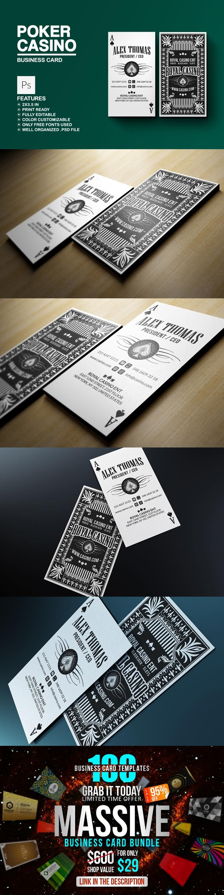 Printable Business Card Templates Create Free - oukas.info