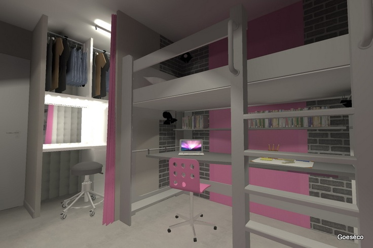 Chambre Ado New York Fille. Excellent Suprieur Chambre New York ...