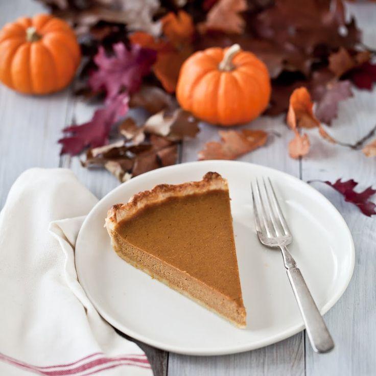 Drunken Pumpkin-Bourbon Tart | Recipes+Pies | Pinterest