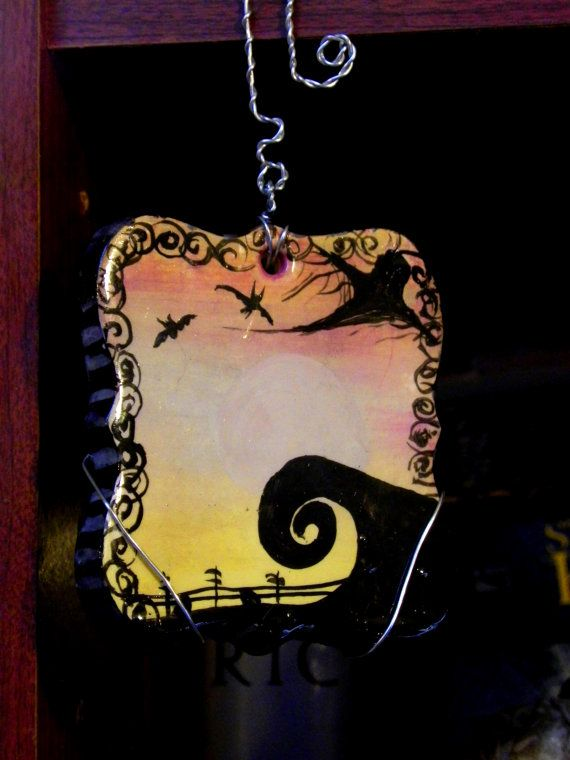 Nightmare Before Christmas Tree Ornament Decoration
