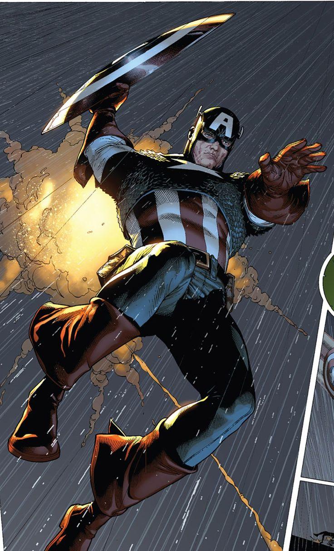Captain america by steve mcniven artist steve mcniven for Captain america