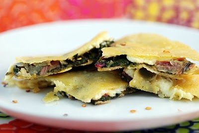 Swiss Chard Quesadilla | recipes for veggies from Mel's Garden | Pint ...