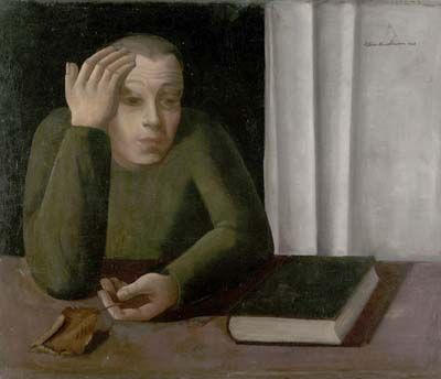 Portrait of an Unidentified Man, 1941, Felix Nussbaum