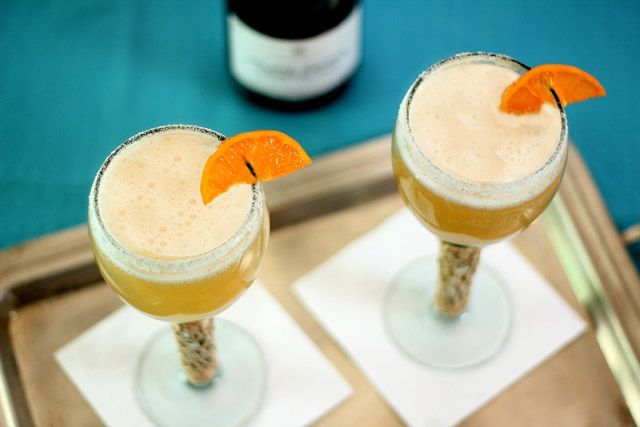 Sparkling Pom Margarita and Homemade Grenadine Syrup