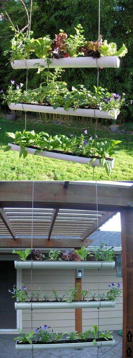 Diy Outdoor Vertical Garden Gardening Pinterest