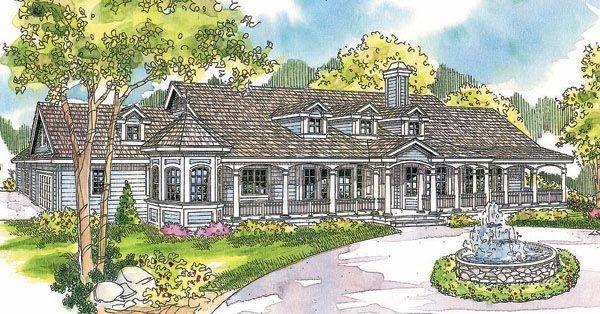 Country Florida Ranch House Plan 69296