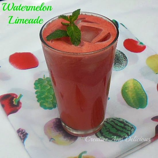 Watermelon Limeade | Recipe