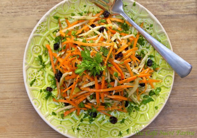 Annie's Carrol & Fennel Salad w/ Fresh Lemon Vinaigrette
