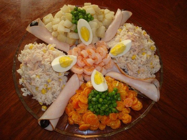 salade decoration