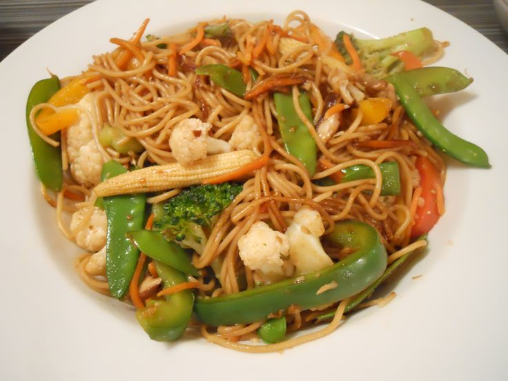 Vegetable Lo Mein | Yummy | Pinterest