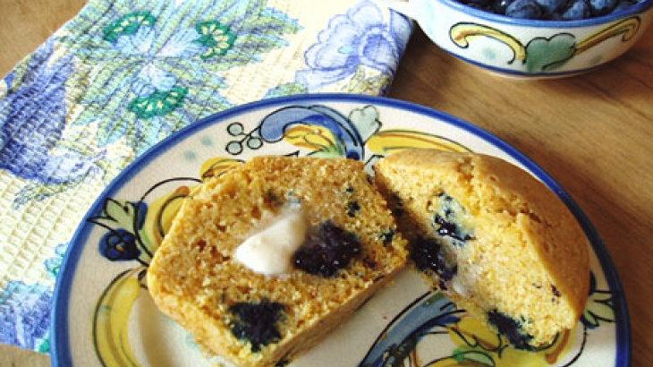 Gluten-Free Blueberry Corn Muffins | Food-Gluten-Free | Pinterest