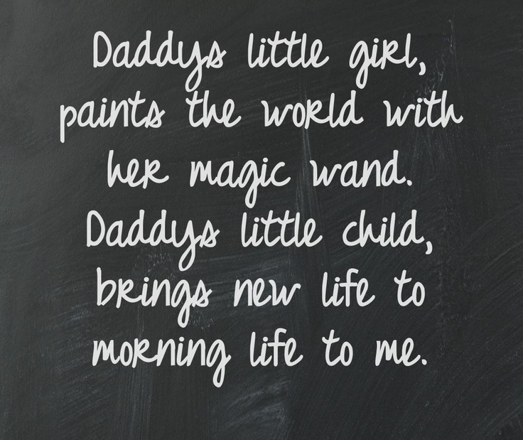 Cute daddys little girl quotes