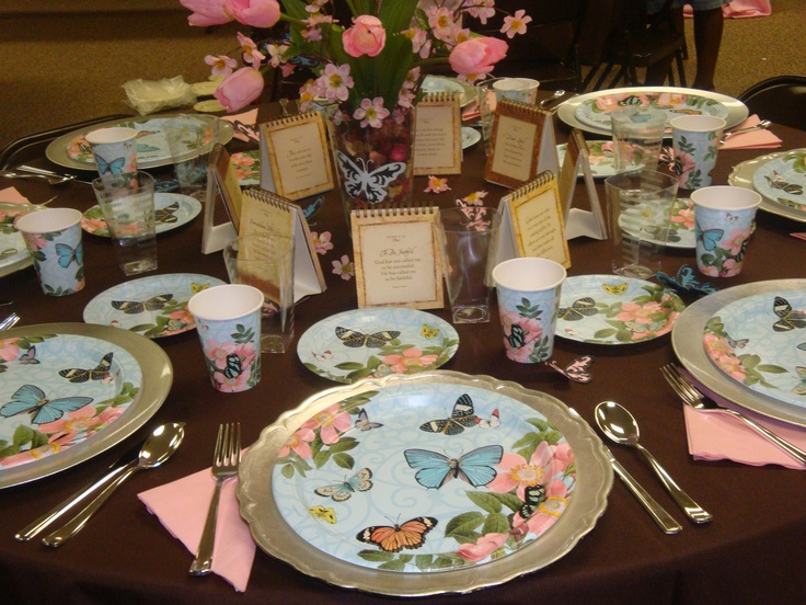 luncheon table setting  Be My Guest  Pinterest