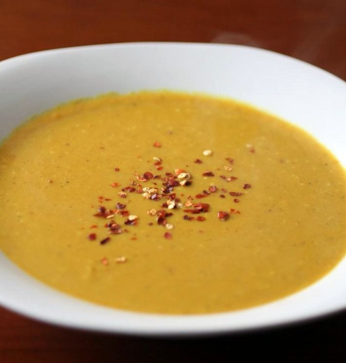 thai pumpkin soup. For use with canned pumpkin.
