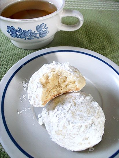 Coconut Lime Tea Cookies -- Folks, these are delish! A crowd pleaser ...