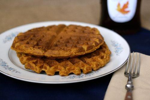 Spiced Pumpkin Waffles | Gluttony | Pinterest