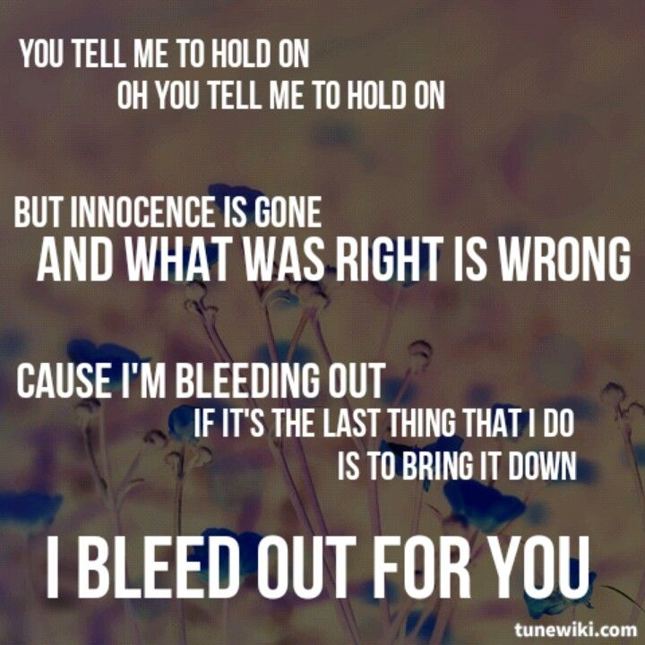 bleeding out imagine dragons quotes pinterest