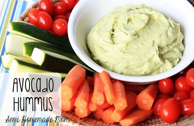 Avocado white bean hummus — Homegrown & Healthy
