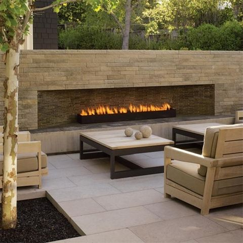 Build outdoor fireplace diy outdoor ideas pinterest for Diy outdoor gas fireplace