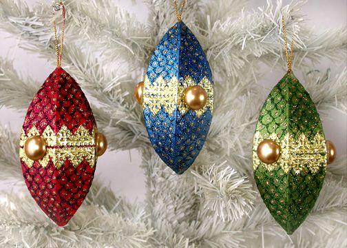 paper ornaments patterns | Christmas | Pinterest