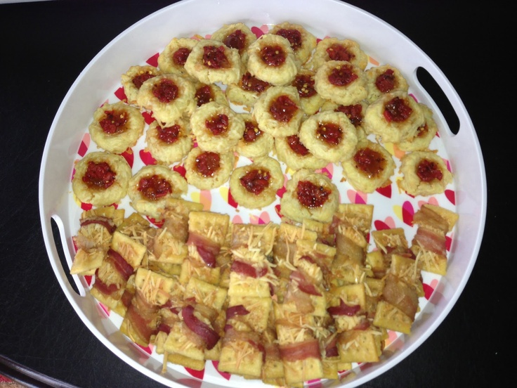Up: A Passion for Parmesan Cracker Crack - AKA Parmesan Bacon Crackers ...