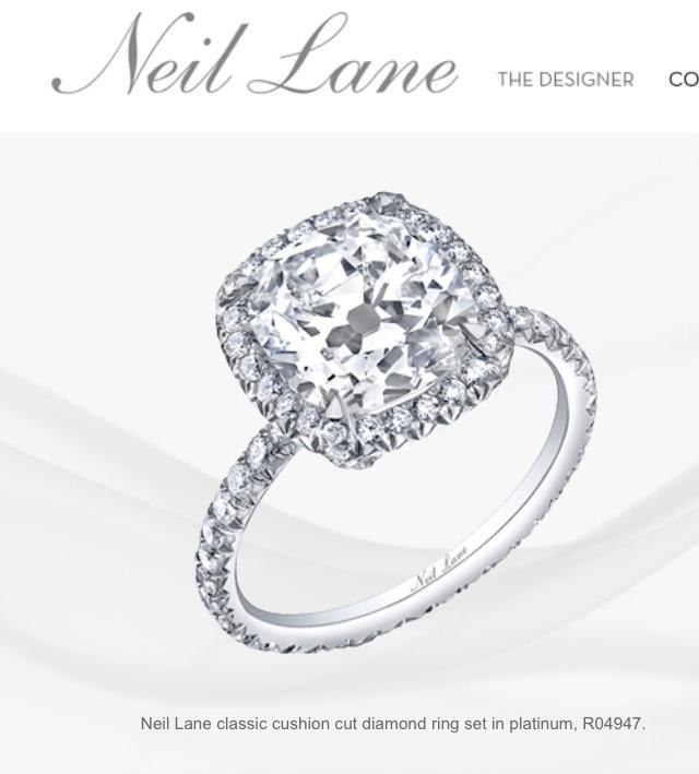 Neil Lane Engagement Ring Dream Wedding Pinterest