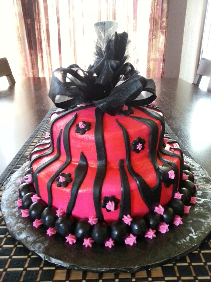 Birthday Cake Ideas For 13 Yr Old Girl : Birthday Cake baked for a 13 year old girl. She was just ...
