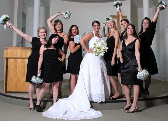 Black wedding dresses uk pictures