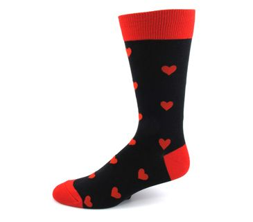 Men's Hearts Everywhere Socks