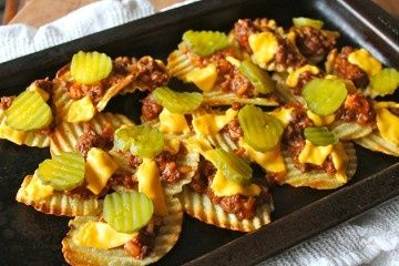 Sloppy Joe Nachos | Start by preheating the oven on medium broil. In a ...